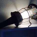 Industriële looplamp # 37 VERKOCHT