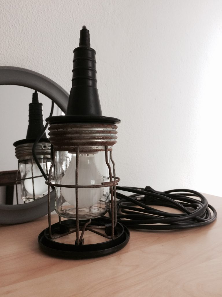 Industriële looplamp # 37