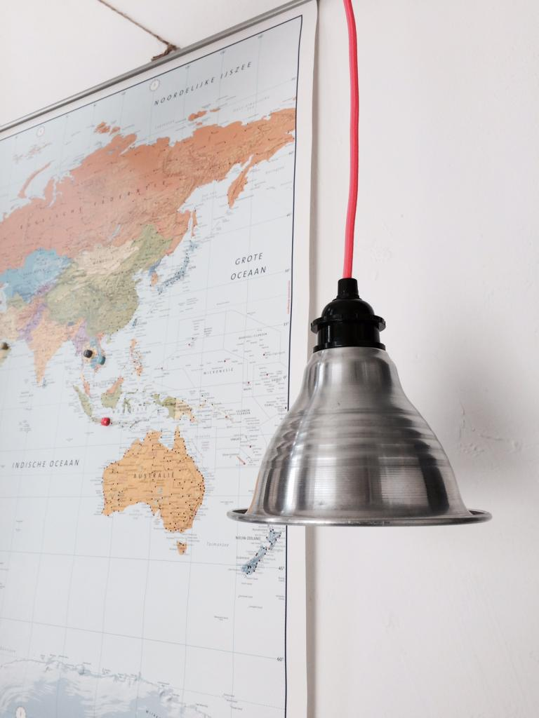 Aluminium lamp