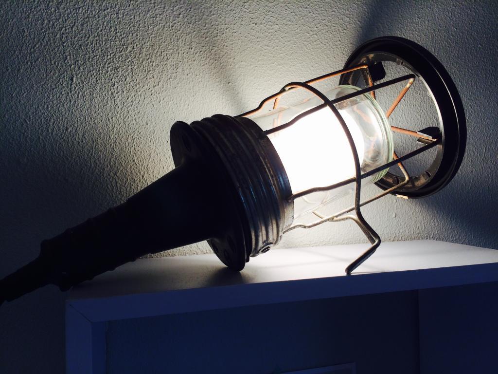 Industriële looplamp