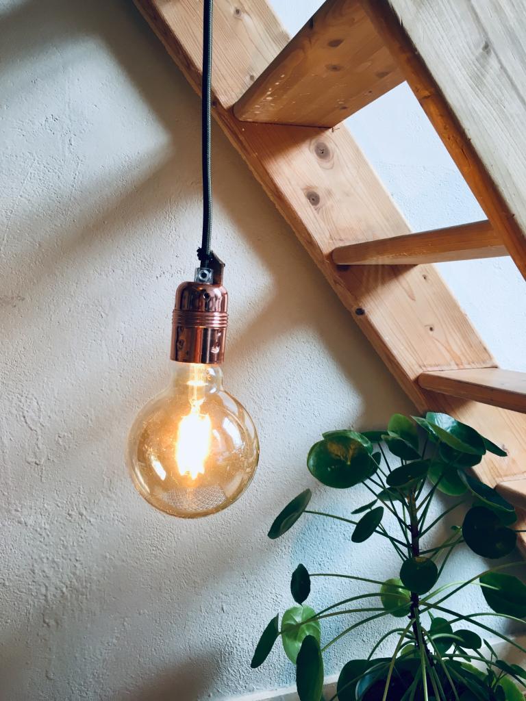 Lamp koper