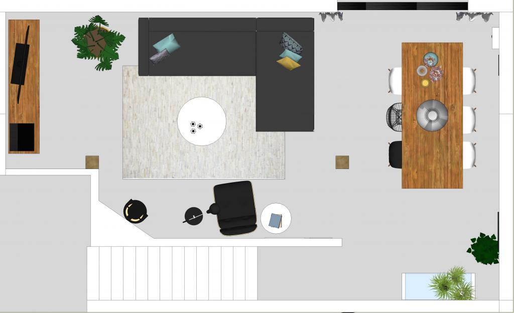 Interieurontwerp woonkamer We Stijl